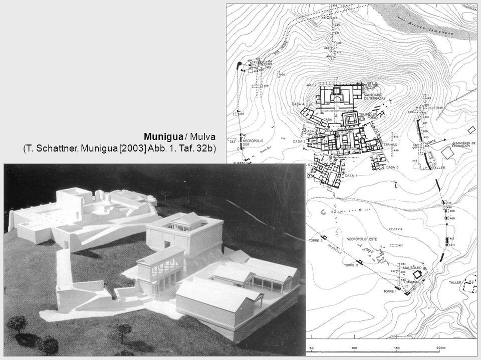 Munigua / Mulva (T. Schattner, Munigua [2003] Abb. 1. Taf. 32b)